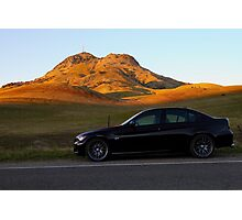 My E90 at the Buttes Photographic Print