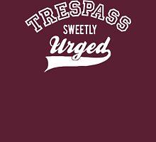 Trespass Sweetly Urged - Shakespeare T-Shirt [White] T-Shirt