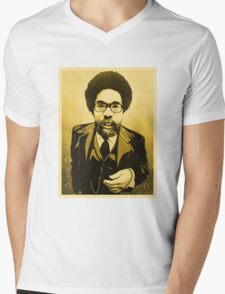 Dr Cornel West Mens V-Neck T-Shirt