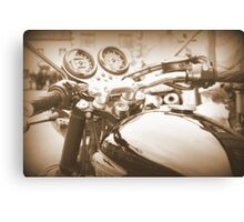 The View From The Handlebars *part two* Canvas Print