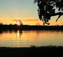 Sunrise North Creek Ballina NSW by Emmy Silvius