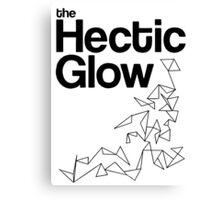 The Hectic Glow - John Green T-Shirt [B&W] Canvas Print