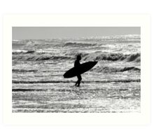 Sharpes Beach Ballina NSW Art Print