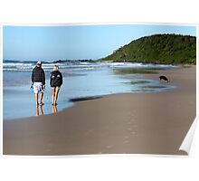 Sharpes Beach Ballina NSW Poster