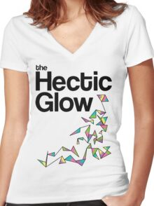 The Hectic Glow - John Green T-Shirt [Colour] Women's Fitted V-Neck T-Shirt