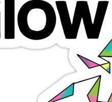 The Hectic Glow - John Green T-Shirt [Colour] Sticker