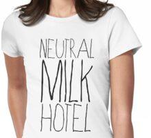 Neutral Milk Hotel [B] Womens Fitted T-Shirt