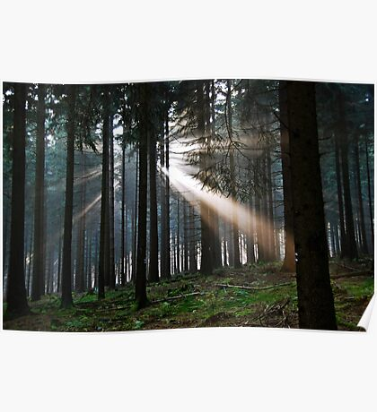 Rays of light Poster