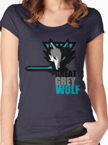 The Great Grey Wolf Women's Fitted Scoop T-Shirt