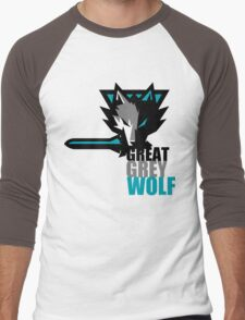 The Great Grey Wolf Men's Baseball ¾ T-Shirt