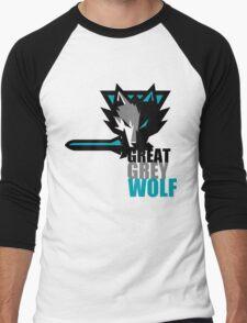 The Great Grey Wolf Men's Baseball ¾ T-Shirt