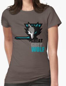 The Great Grey Wolf Womens Fitted T-Shirt