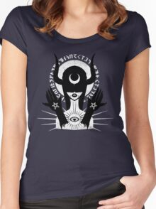 Occult Girl Women's Fitted Scoop T-Shirt