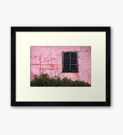 Isolated Window Framed Print