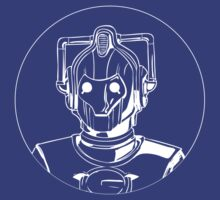 Doctor Who - Cyberman Circle T-shirt by fanboydesigns