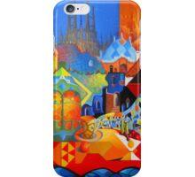 El Barcelona de Gaudi iPhone Case/Skin