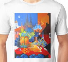 El Barcelona de Gaudi Unisex T-Shirt