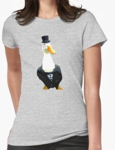 Like A Sir - Duck Womens Fitted T-Shirt