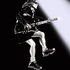 Angus Young Portrait by Courtney Mitchell