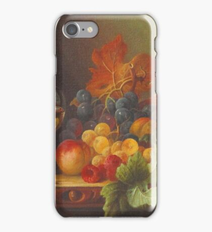 End Of Summer Fruits iPhone Case/Skin