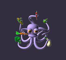 Octopus juggling vegetables from Valxart.com  Zipped Hoodie