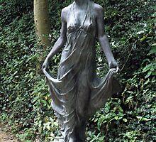 Classical Female Statue In Stone by artyfax
