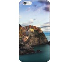 Sunset over Manarola iPhone Case/Skin
