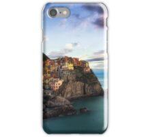 Sunset over Manarola iPhone Case/Skin