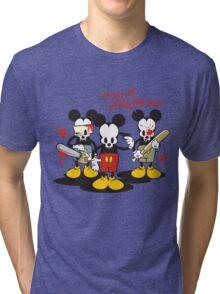Living Dead Mickey Tri-blend T-Shirt
