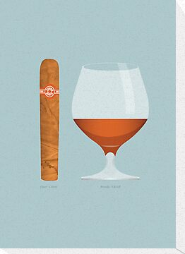 Brandy and Cigar by Stephen Wildish