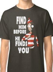 Hiding in the Dark funny nerd geek geeky Classic T-Shirt