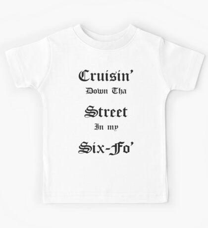 Cruisin Down Tha Street.... Kids Tee