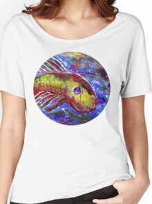 Lucky fish Women's Relaxed Fit T-Shirt