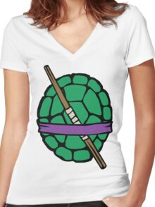 The Does Machines Edition (Alternate) Women's Fitted V-Neck T-Shirt