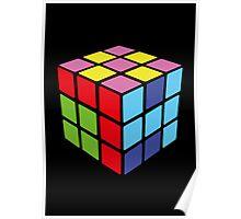 1974 Rubiks Cube Poster