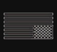 Tired America Flag by Vincent - :) -