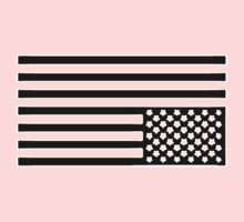 Tired America Flag Kids Clothes