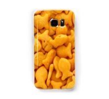 Gold Fish Crackers Samsung Galaxy Case/Skin