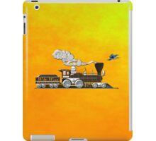 Wild West Railways Steam Locomotive iPad case iPad Case/Skin