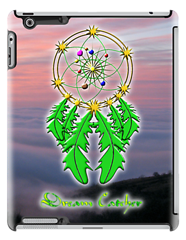 Native American Dream Catcher iPad case by Dennis Melling