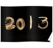 2013, New Years Day, Loch Fyne, Scotland, UK  * Poster
