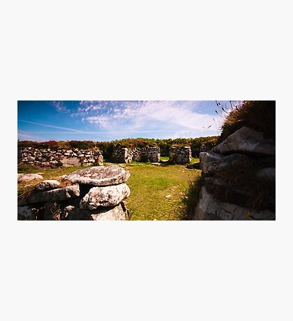 Chysauster, Penzance Photographic Print