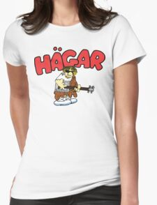 Hagar The Rockstar Womens Fitted T-Shirt