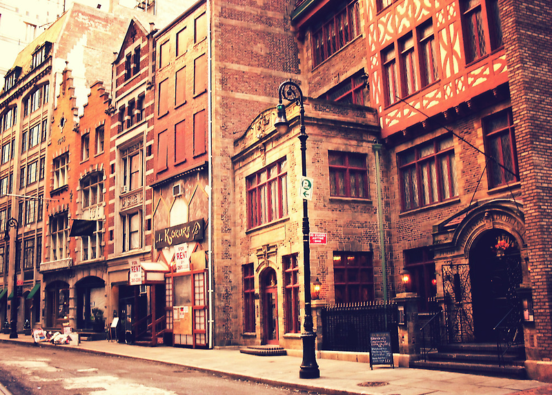 A Step Back in Time - New York City by Vivienne Gucwa