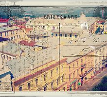 Greetings from Chernivtsi VIII (Postcard Imitated) by alecksmart