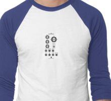 Synthetic technolochy Men's Baseball ¾ T-Shirt