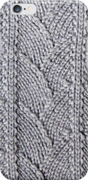 Dragon skin textured knit by knititude