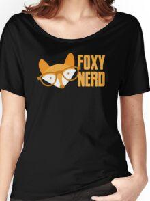 FOXY nerd Women's Relaxed Fit T-Shirt