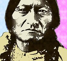 SITTING BULL-COLOUR 5 by OTIS PORRITT