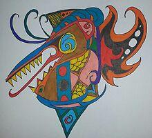 Heraldic abstract  by Dwstreetgear